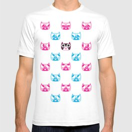 We are watching you. MEOW x 5 T-shirt