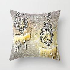 romantic candles Throw Pillow