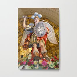 Archangel Saint Michael Metal Print