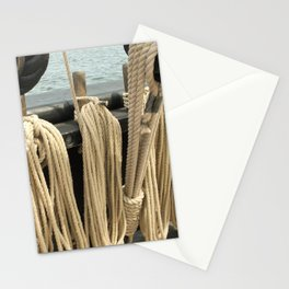 Ropes on a Ship Stationery Cards