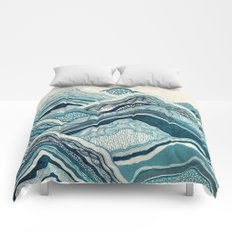 Blue Hike  Comforters