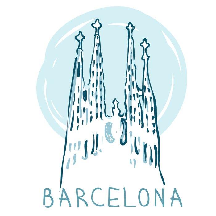 Barcelona 01 Comforters