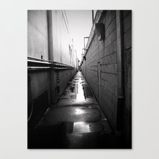 dead center Canvas Print