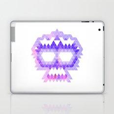 Punk Triangle Skull - Purple Laptop & iPad Skin