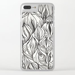 pussy power Clear iPhone Case