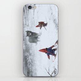 furry demon iPhone Skin