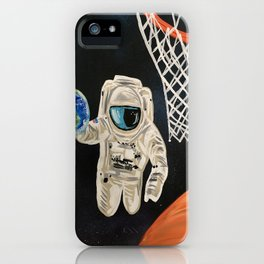 Space Games iPhone Case