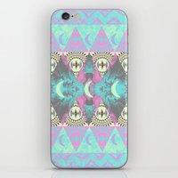 boho iPhone & iPod Skins featuring Boho by Lyndsay Caine
