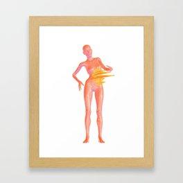 Flamesinside Framed Art Print