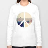 woodstock Long Sleeve T-shirts featuring Woodstock 69 by Silvio Ledbetter