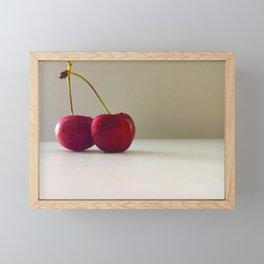 Cherry Love Framed Mini Art Print