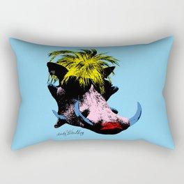 Andy Warthog Rectangular Pillow