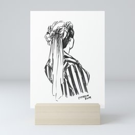 Hat Ribbons Mini Art Print