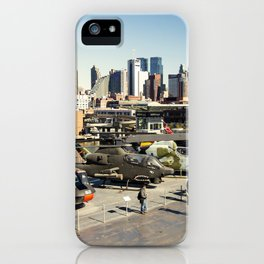 Chopper Cityscape iPhone Case