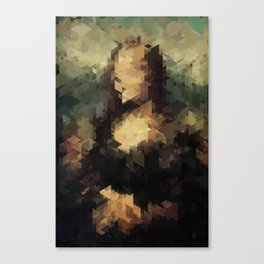 Panelscape Iconic - Mona Lisa Canvas Print