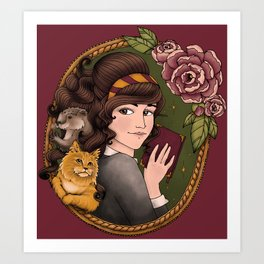 The Good Witch Art Print