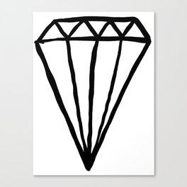 Big Rock Diamond Canvas Print