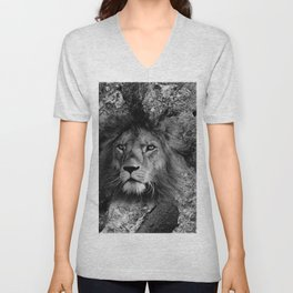 The Fearless Lion Unisex V-Neck