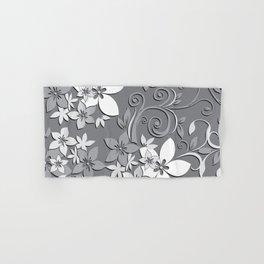Flowers wall paper 3 Hand & Bath Towel