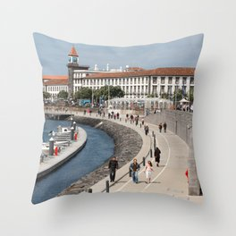 Ponta Delgada Throw Pillow