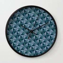 Blue Quartet Wall Clock