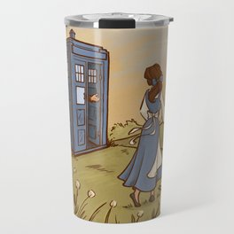Adventure in the Great Wide Somewhere Travel Mug
