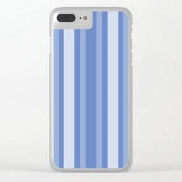 Danube Victorian Lady Stripe Clear iPhone Case