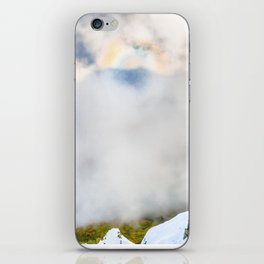 Halo in Caucasian ridge iPhone Skin