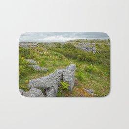 Cloudy Poulnabrone Landscape Bath Mat