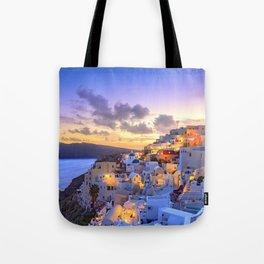 Santorini #society6 #decor #buyart Tote Bag