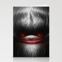 evil Stationery Cards featuring EVIL by Dr. Lukas Brezak