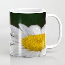 Raindrops and Daisy Coffee Mug