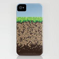 Minecraft Block iPhone (4, 4s) Slim Case