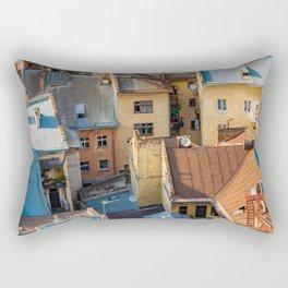 Colors of city Rectangular Pillow
