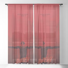 Not Fear The Dark  Sheer Curtain