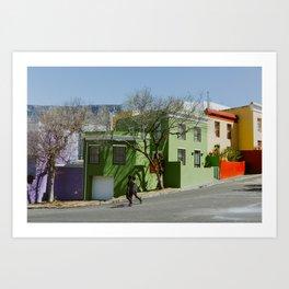 Bo-Kaap Art Print