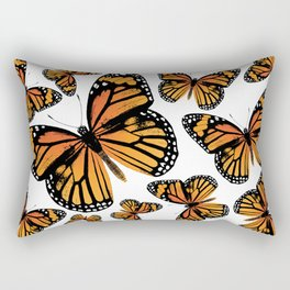 Monarch Butterflies | Monarch Butterfly | Vintage Butterflies | Butterfly Patterns | Rectangular Pillow