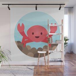 Crab Wall Mural