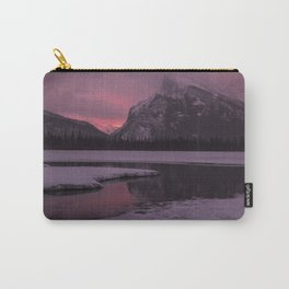 Vermillion Sunrise Three Carry-All Pouch