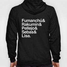 "Cuervito Fumanchu - ""Name list"" Hoody"