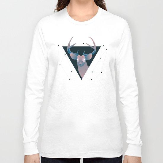 Deer Hipster Long Sleeve T-shirt