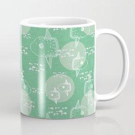 Mola Mola Green-Ocean sunfish Coffee Mug