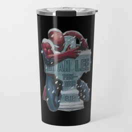 Lovely Spider-Man hug Stan Lee Travel Mug