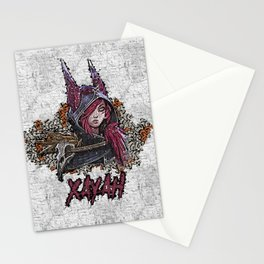 League of Legends XAYAH - Graffiti Style Stationery Cards