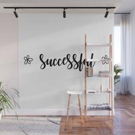 Successful Wall Mural