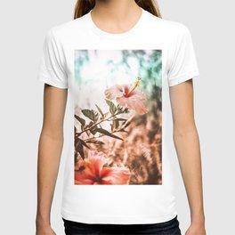 Blush Hibiscus T-shirt