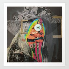 Another Portrait Disaster · mit Hut 2 Art Print