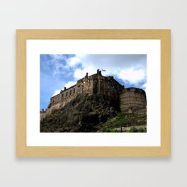 Edinburgh Castle, Scotland Framed Art Print