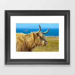 Highland Beauty Framed Art Print