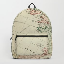 Old Map of the West of Europe Backpack